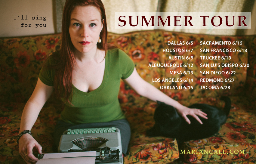 Click for summer tour dates. Photo by Grace Virginia Kari, gracevirginia.com