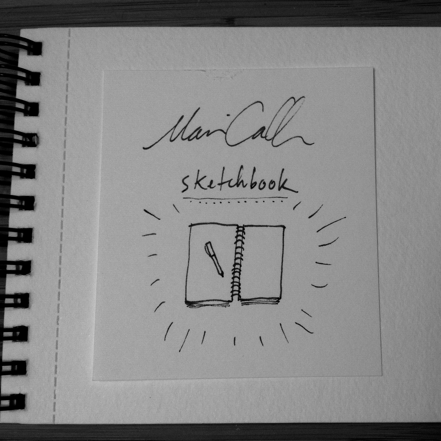 Sketchbook album by Marian Call