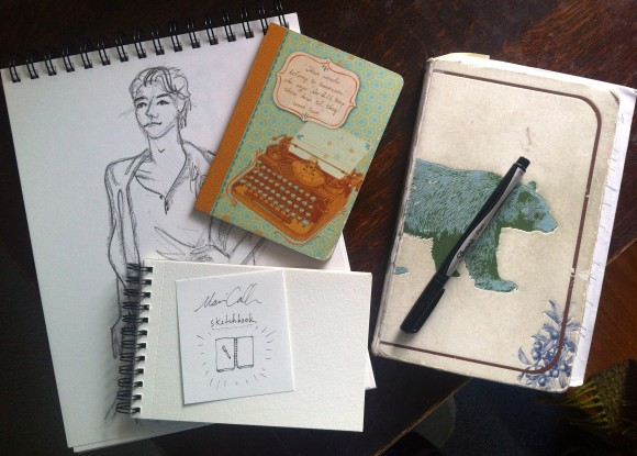 Marian's sketchbooks!